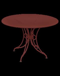 Fermob 1900 Tisch Ø 117 NEU!-Chili MK