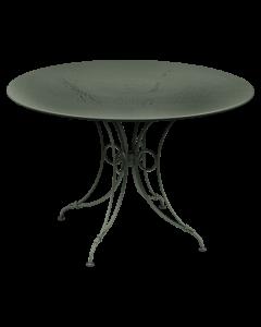 Fermob 1900 Tisch Ø 117 NEU!-Rosmarin MK