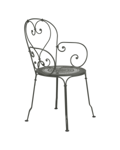 Fermob 1900 | Stuhl mit Armlehne, Rosmarin
