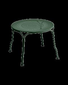 Fermob 1900 niedriger Tisch Ø45-Zederngrün MK