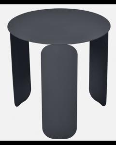 Fermob BEBOP Niedriger Tisch Ø45cm, Anthrazit