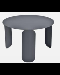Fermob BEBOP Niedriger Tisch Ø60cm, Anthrazit