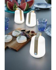 Balad Lampe 3er Set  Bambus Limitiert H12