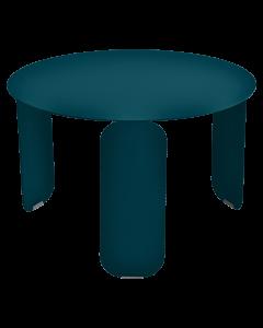 Fermob BEBOP Niedriger Tisch Ø60cm, Acapulcoblau
