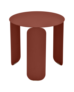 Fermob BEBOP Niedriger Tisch Ø45cm, Ockerrot