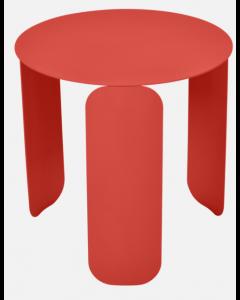 Fermob BEBOP Niedriger Tisch Ø45cm, Capucine