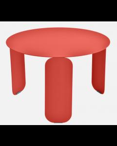 Fermob BEBOP Niedriger Tisch Ø60cm, Capucine