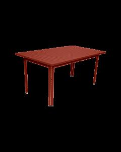Fermob COSTA | Gartentisch 160x80 cm, Ockerrot