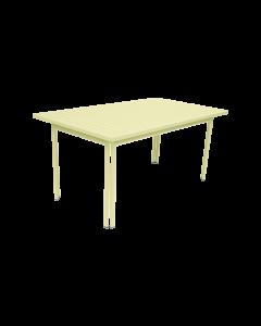 Fermob COSTA | Gartentisch 160x80 cm-Zitronensorbet MK-Rechteckig