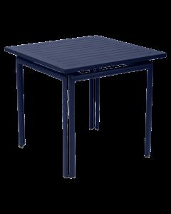 Fermob COSTA | Gartentisch 80x80 cm, Abyssblau