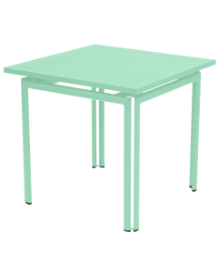 Fermob COSTA   Gartentisch 80x80 cm-Opalgrün MK-Quadratisch