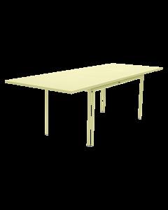 Fermob COSTA | Gartentisch ausziehbar 160/240x90cm-Zitronensorbet MK-Rechteckig