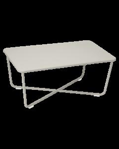 Fermob CROISETTE | Gartentisch 97x57 cm-Lehmgrau MK