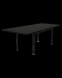 Fermob COSTA | Gartentisch ausziehbar 160/240x90cm, Lakritz