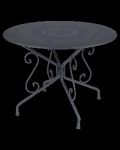 Fermob MONTMARTRE | Tisch Ø 96 cm, Anthrazit