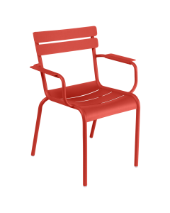 Fermob LUXEMBOURG   Stuhl mit Armlehne, Capucine