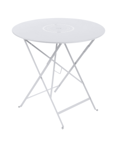 Fermob Tisch Ø 77 cm   Kollektion FLOREAL, Baumwollweiß