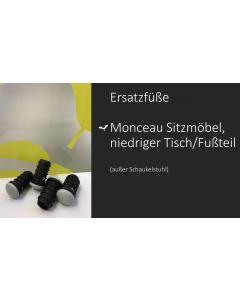 Fermob Ersatzfüße Monceau Sitzmöbel und niedriger Tisch/Fußteil (4 Stück)