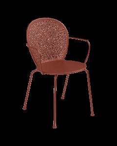 Fermob Lorette | Stuhl mit Armlehne-Ockerrot MK