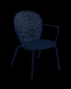 Fermob LORETTE | Tiefer Sessel -Abyssblau MK