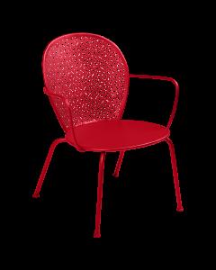 Fermob LORETTE | Tiefer Sessel -Mohnrot SG