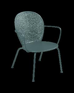 Fermob LORETTE | Tiefer Sessel -Gewittergrau MK