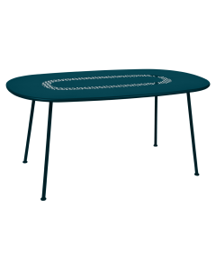 Fermob LORETTE | Tisch 160x90cm-Acapulcoblau MK
