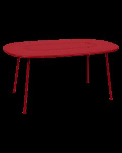 Fermob LORETTE | Tisch 160x90cm-Mohnrot SG