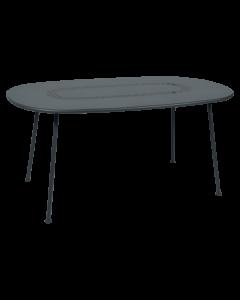 Fermob LORETTE | Tisch 160x90cm-Gewittergrau MK
