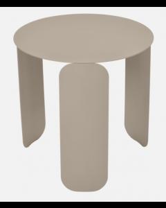 Fermob BEBOP Niedriger Tisch Ø45cm, Muskat