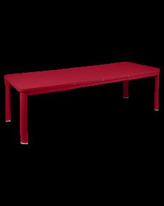 Fermob Oleron Tisch mit 2 Verlängerungen 155/255 x 100