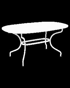 Fermob Opera+ ovaler Tisch 160x90-Baumwollweiß MK
