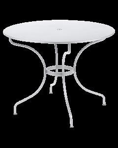 Fermob Opera+ Tisch Ø96-Baumwollweiß MK