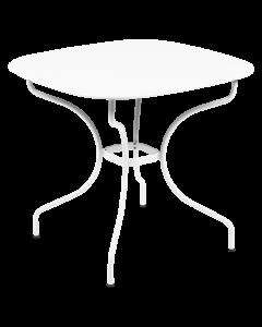 Fermob Opera+ Carronde Tisch 82x82 cm-Baumwollweiß MK