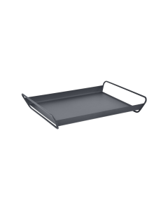 Fermob ALTO Tablett 53 x 38,5 cm Anthrazit