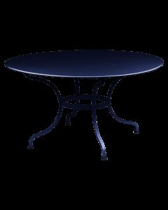 Fermob ROMANE | Gartentisch Ø 137 cm , Abyssblau