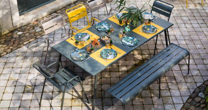 Fermob MONCEAU | Gartenstuhl mit Armlehne